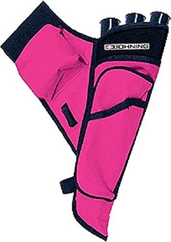 Bohning Mini Left Hand Target Quiver Hot Pink