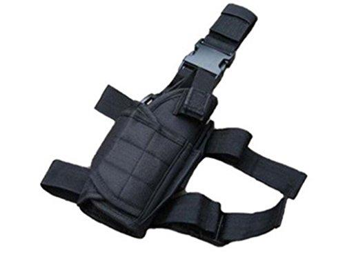 BeeChamp Right Handed Universal Tactical Leg Holster Thigh Pistol Gun Handgun Holder
