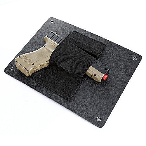 Pistol Mount Holster Quick Access Handgun Holder Concealed Holster for Vehicle Car Door Desk