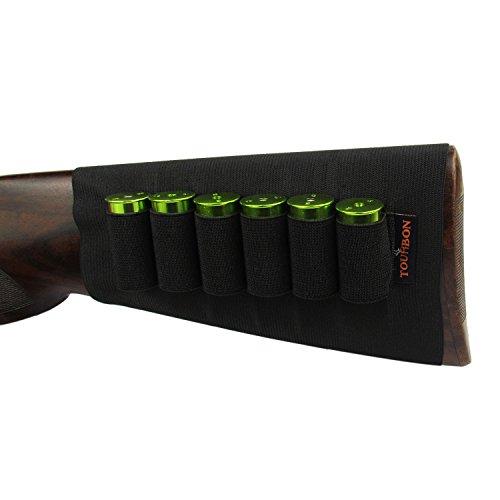 Tourbon Shotgun Buttstock 12 Gauge Shotshell Holder