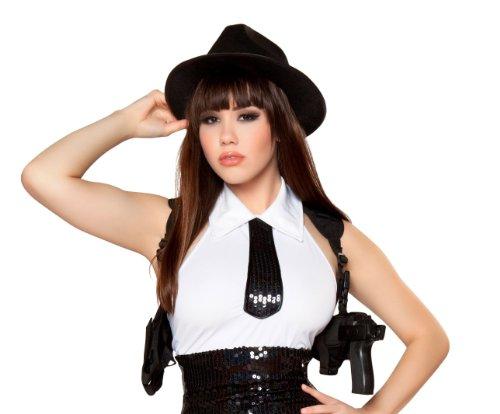 Roma Costume Shoulder Gun Holster Costume Black One Size