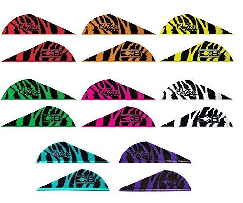Bohning Blazer Tiger Vanes 36 Pack