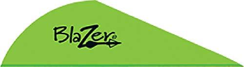 Bohning Blazer Vane - Kiwi Pack of 100 Green