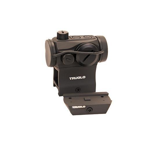 TRUGLO Tru-Tec Tactical 20mm Red-Dot Sight Black
