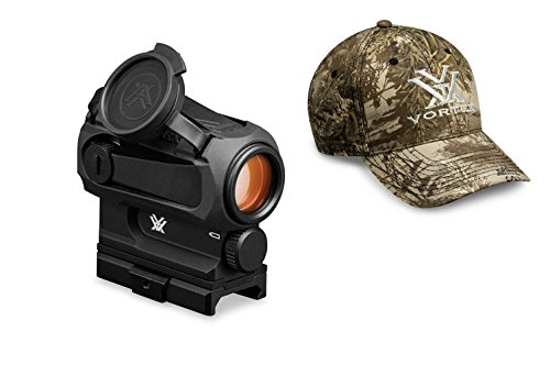 Vortex Optics SPC-AR1 Sparc AR Red Dot Scope w Vortex Optics Hat Colors May Vary