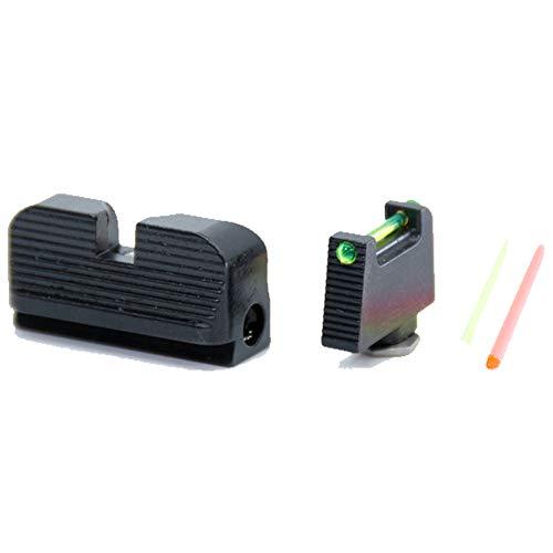 Taran Tactical Ultimate Fiber Optic Sight Set for Glock MOS Standard Height