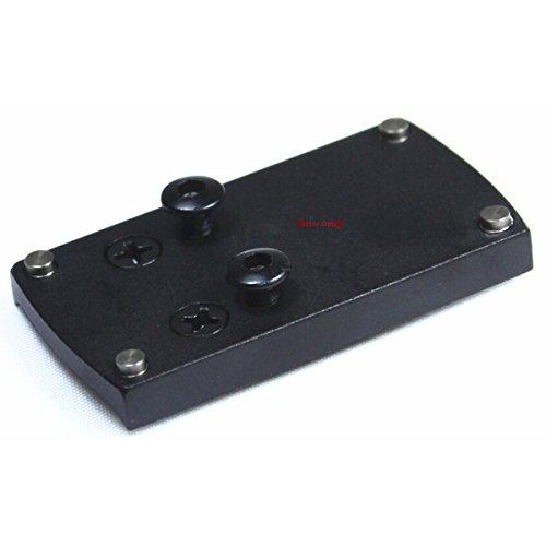 Vector Optics Tactical Mini Red Dot Sight Mount Base for M1911 SIG P226 Springfield XD S&W M&P HK USP Color Black