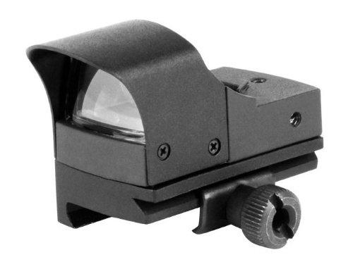 AIM Sports Micro Red Dot Reflex Airsoft Gun Sight w Sunshade