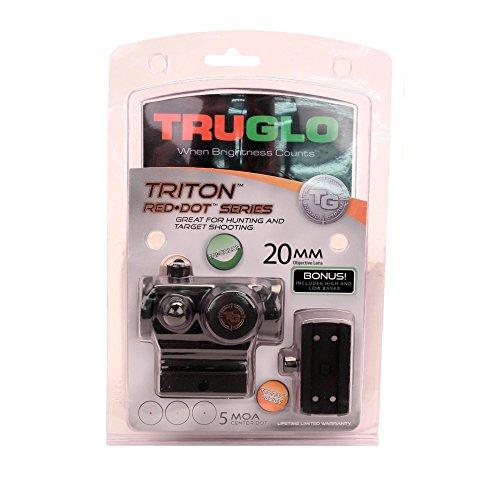 TRUGLO Tactical Red Dot Sight 20mm Triton Tri-Color RGB