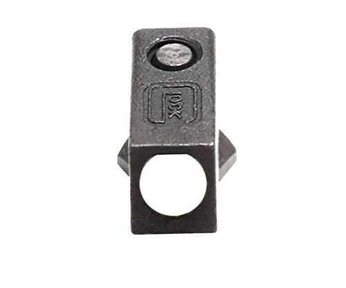 Glock Steel Front Sight White Dot w Screw Factory OEM - ALL GLOCKS
