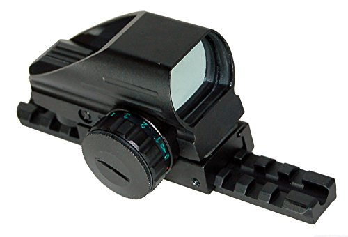 Mossberg 500 Pump Tactical Red and Green Dot Sight Home Defense Hunting Optics Accessory Tactical Aluminum Black Picatinny Weaver Base Mount Adapter Single Rail