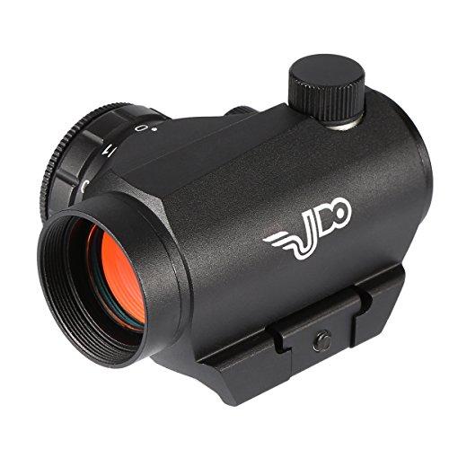Udo Illuminated 2 Moa Red Dot Sight Scope 11 Adjustable Brightness Levels ShockWaterFog Proof Durable Black
