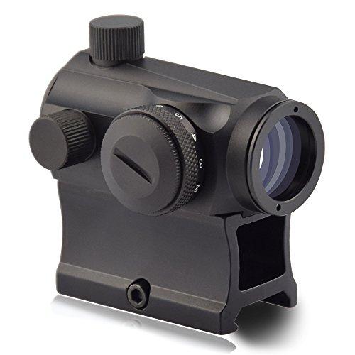 OTW Red Dot Sight1x20mm 4 MOA Red Green Dot Sight Micro Rifle Scope