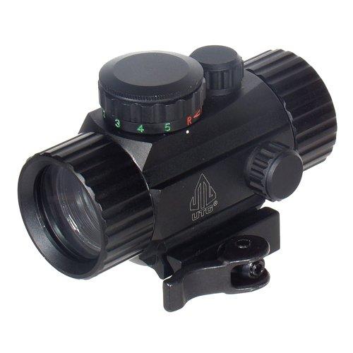 UTG 38 ITA RedGreen Circle Dot Sight wIntegral QD Mount