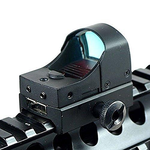 Feyachi Mini Reflex sight  Holographic sight Red Dot Sight Fits for 20mm Weaver Rail Mount