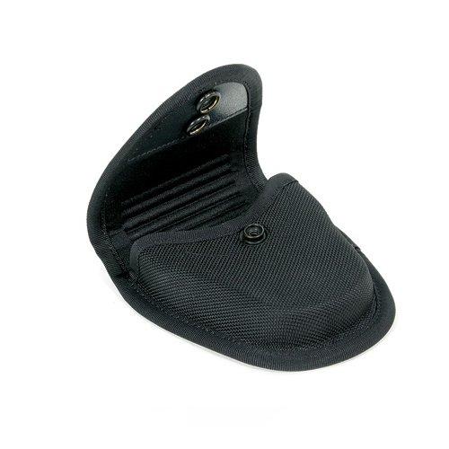 BLACKHAWK Molded Black CORDURA Single Handcuff Pouch
