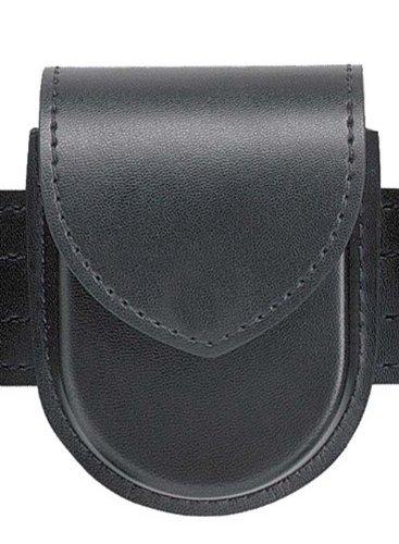 Safariland Duty Gear Hidden Snap Flap Top Double Handcuff Pouch Plain Black