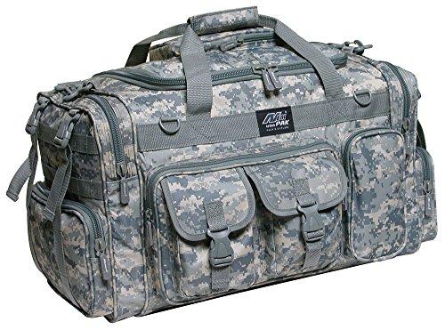 26 Tactical Duffle Military Molle Gear Shoulder Strap Range Bag TF126 DM Digital Camouflage