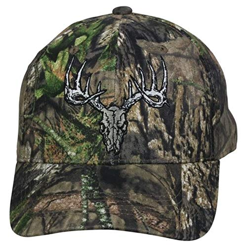 Outdoor Cap Mossy Oak Country Deer Skull Camo Hunting Hat