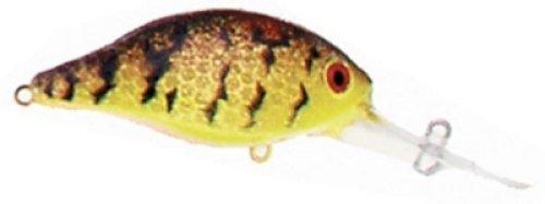 Luhr Jensen 34 Hot Lips Express Rattle  Brown Mud Crawfish