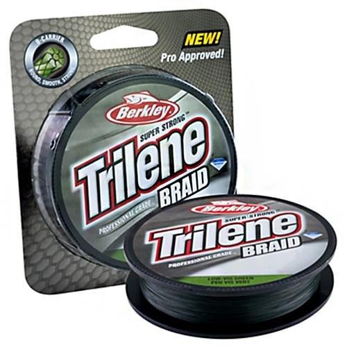 Trilene Braid - Professional Grade Superline - Low-Vis Green - 10lb  45kg - 150yd  137m