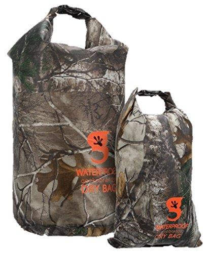 geckobrands Lightweight Compression Dry Bag 2-Pack Realtree Edge Camo