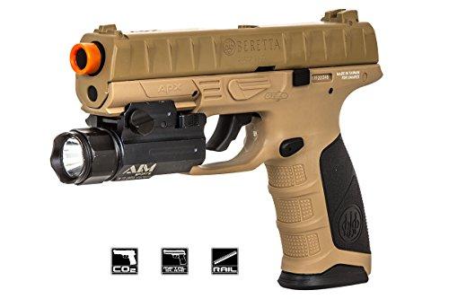 Elite Force Beretta APX CO2 Blowback Pistol Airsoft Gun FDE