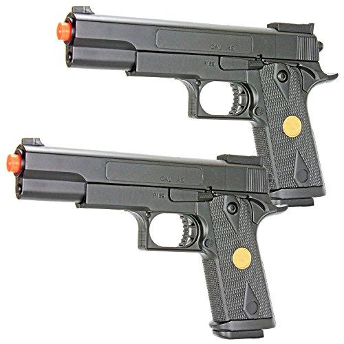 bbtac dual spring p169 spring pistols 260 fps spring airsoft gun two packAirsoft Gun