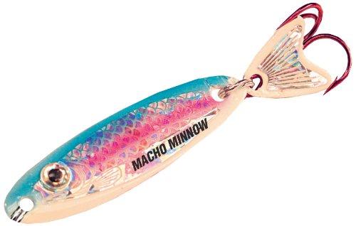 Northland MOM3-25 18-Ounce Macho Minnow Lure Super Glow Rainbow