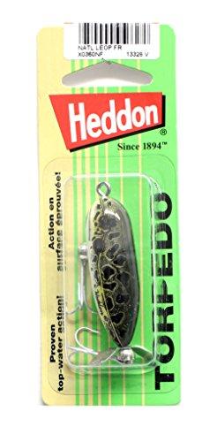 Heddon Tiny Torpedo Lure Natural Leopard Frog 1 78-Inch