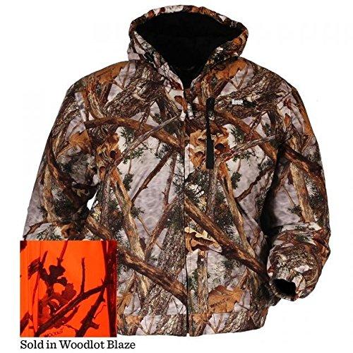 BrNameinternal BrNameinternal Deer Camp Jacket Woodlot Blaze X-Large Blaze Camo