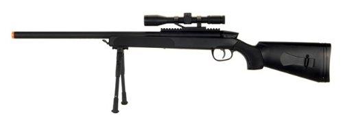 cyma zm51 spring airsoft gun sniper rifle fps-400 w bipod scopeAirsoft Gun