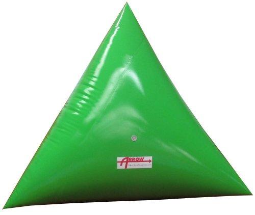 Premium 5 Triangle Swim Marker Buoy FLUORESCENT GREEN