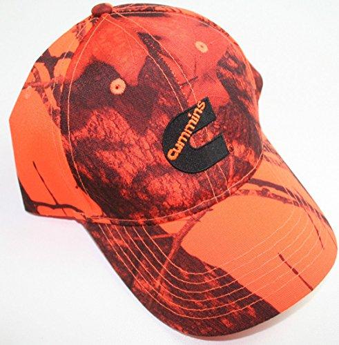Cummins Camo mossy oak blaze neon hunter orange Ball Cap Hat New Diesel Wear
