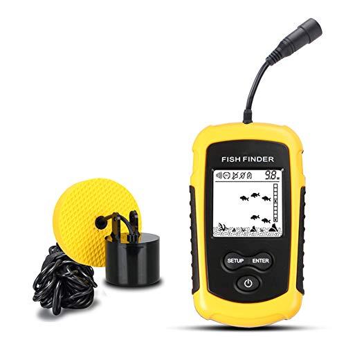 CBPE Wired Fish Finder Sonar Sensor Transducer Water Depth Finder Portable Fish Finder for Fishing