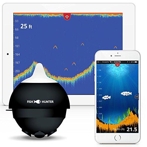 FishHunter PRO The Worlds Fastest Wireless Portable Fish Finder
