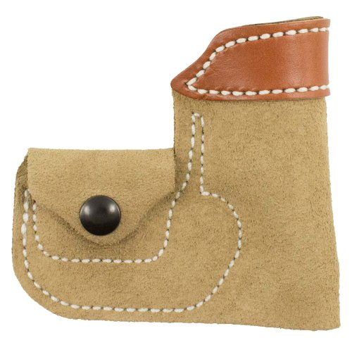 Desantis Leather Ambidextrous Pocket Holster Tan