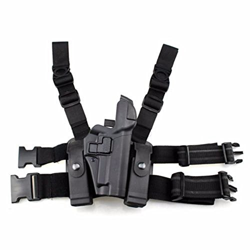 Tactical P226P229 Leg Gun Holster Right Hand Level 3 Lock Leg Holster