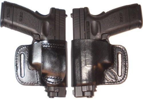 Bersa 380 CC Pro Carry Belt Ride Gun Holster Left Hand Black