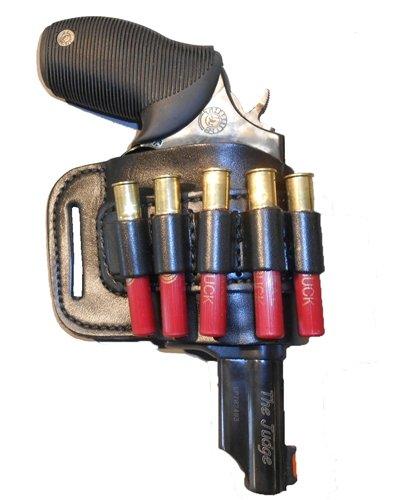 Pro Carry Belt Ride Ranch Series© Taurus Judge Public Defender Polymer - Right Hand - Black - Gun Holster
