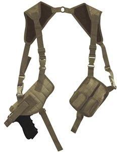Fox Outdoor Advanced Tactical Shoulder Holster Coyote Tan