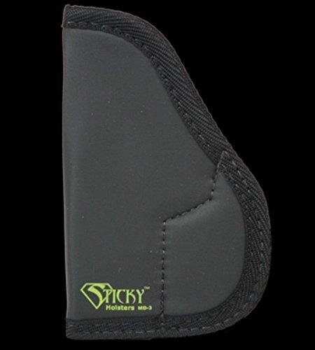 Sticky Holsters Black Pocket IWB Concealment Holster for Sig Sauer P232 380 ACP 36 Barrel - MD-3