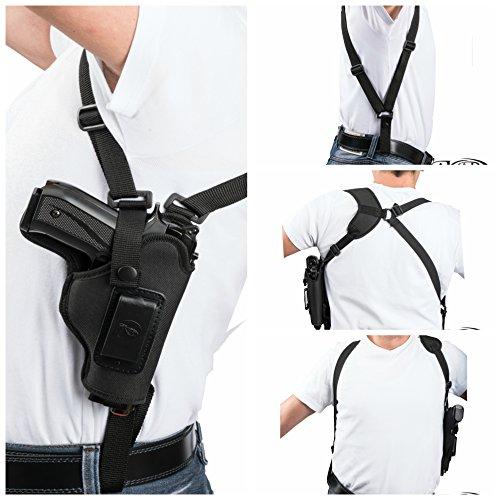 Akar Glock 172231 Vertical Carry Nylon Shoulder Holster - Pick Your Hand-
