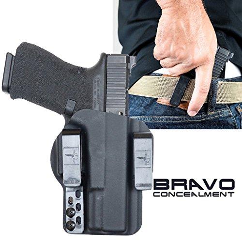 Bravo Concealment Glock 19 Gen 5 IWB DOS Gun Holster