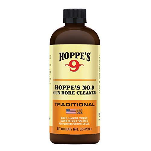 Hoppes No 9 Gun Bore Cleaning Solvent 1-Pint Bottle