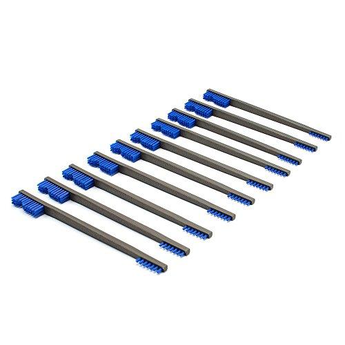 Otis Technology Blue Nylon All Purpose Gun Cleaning Brush 10 Pack