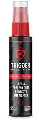 Trigger Fanatics 3 in 1 Gun Cleaner One-Step Alternative to a Gun Cleaning Kit Spray Bottle Gun Oil Clean - Protect - Lubricate - Prevent Rust