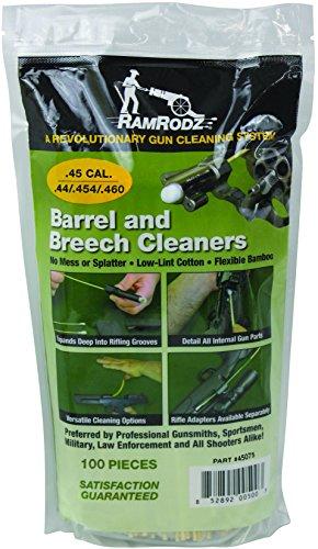 45 Caliber RamRodz Gun Cleaning Swabs New 100 Pack 100 Swabs W Free Shipping