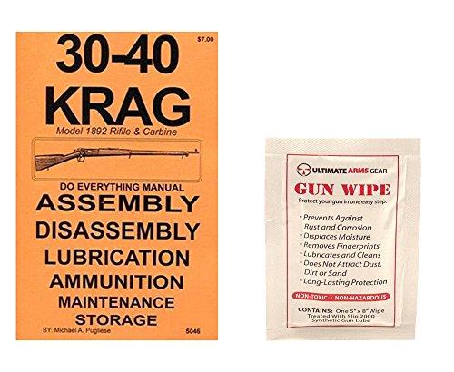 30-40 Krag Do Everything Manual  Ultimate Arms Gear Gun Cleaning Wipe