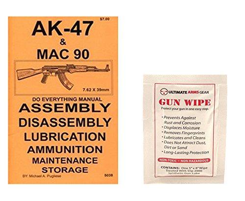 AK 47 Semi MAC 90 Do Everything Manual  Ultimate Arms Gear Gun Cleaning Wipe